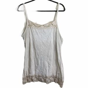 Maurices Crinkle Cami Tank Sz 1